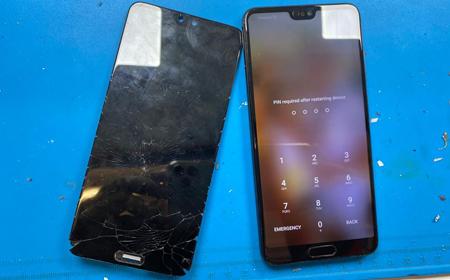 Huawei p20 LCD repair